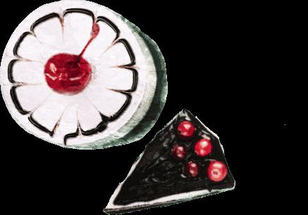 ろこえんじぇるが大すきなケーキ